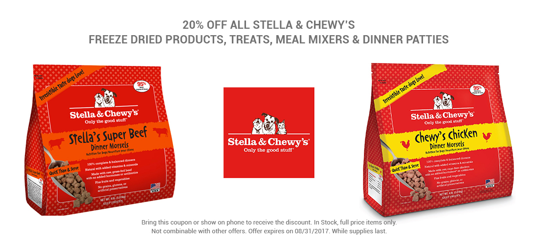 SpecialsPage_Stell&Chewy's_20%OFF